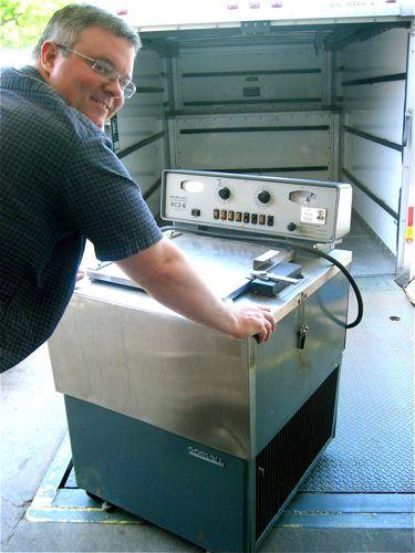 Alan Slesinski & centrifuge