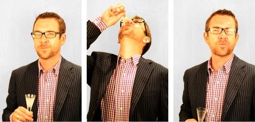 Ted Allen. TVFN food star. Food detective. Queer eye, nice guy.