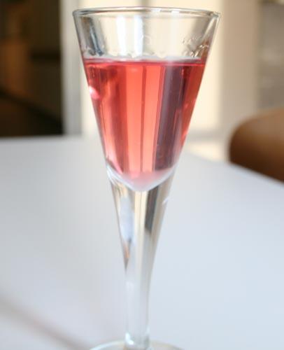 Clarified Strawberry Gin