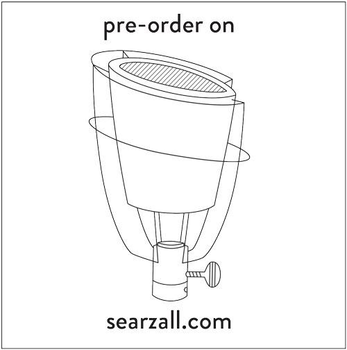 Pre-order on searzall.com
